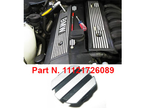 Engine Cover Cap for BMW engines M50 M52 M54 - Improved