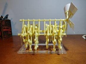 Laser Cut Stand for the Gakken Strandbeest Model Kit