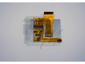 GBA IPS LCD Centering Bracket