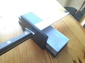Sharpening stone knife holder (15°)