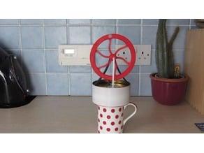 3D Printed LTD Stirling Engine