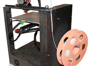 Nioz Z1 3d printer 3mm steel