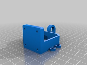 Mk8 extruder mount for P3Steel Toolson edition