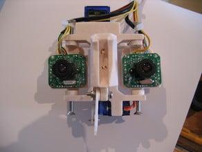 InMoov Eyes HD720P Tecknet Camera Mount