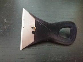 Utility / Razor blade handle - shorter