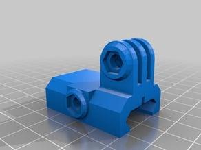 Weaver/Picatinny Gopro mount