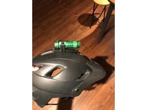 Helmet Bike Light Mount