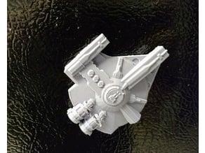XS Stock Light Freighter Magnet