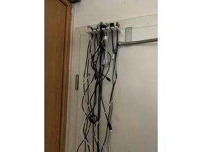 cable door rack
