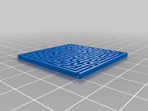 My Customized Random maze generator with base