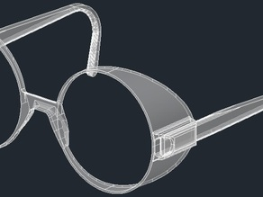 glasses frames for 55mm filters lens