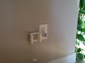 Wall Outlet Plate Smartphone