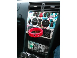 Cassette Player Cupholder - in car