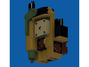 Mostly Printed CNC E3D Titan Volcano Extruder (MPCNC)