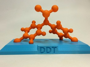 DDT Molecular Model