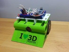 3D Printed Mini Sumo