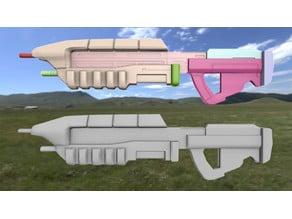 Rifle Halo (modelo: MA5C)