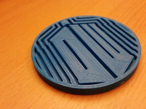 Doctor Who Logo Coaster