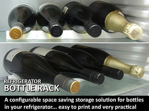 Bottle Rack (for use in Refrigerators)