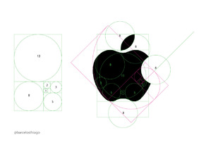Golden Ratio - Fibonacci Drawing pad for Icons