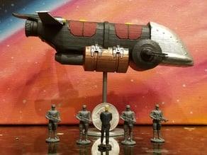 Tachyon Nine - Barricuda Frigate (Sci-Fi Miniature 25mm Scale)