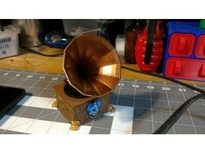 pseudo remix victrola / phonograph