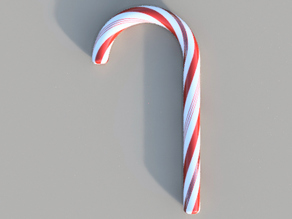 multicolor candy cane