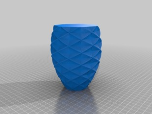 Customized Polygon Vase
