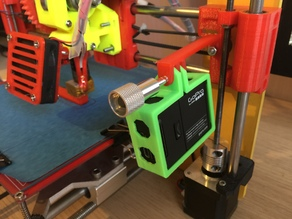 Prusa I3 simple gopro hero 3 mount