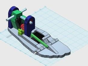 InMoov  Foot  Parts.