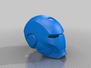 iron man helmet one piece
