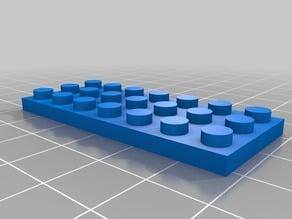 3x7 lego Brick (1/3)