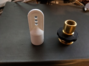 Male Garden Hose Quick Connect Adaptor Cap