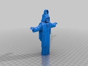 Vader Jesus keychain
