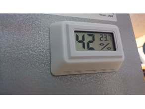 support thermométre hygrométre