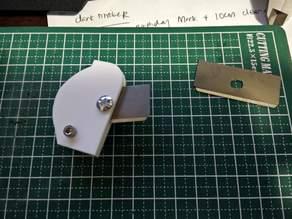 Laser Cut Box cutter blade holder acrylic cutter