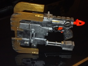 Dead Space Plasma Cutter Nerf Firestrike Mod Kit