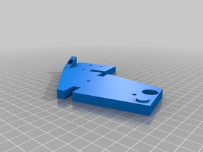 Anet A6 Upper Frame Brace and Extruder Mount