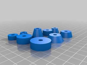 Multiple spacers for M5 screw
