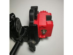 Clamp with a tripod mount