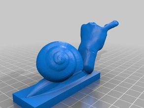 Snail of the art