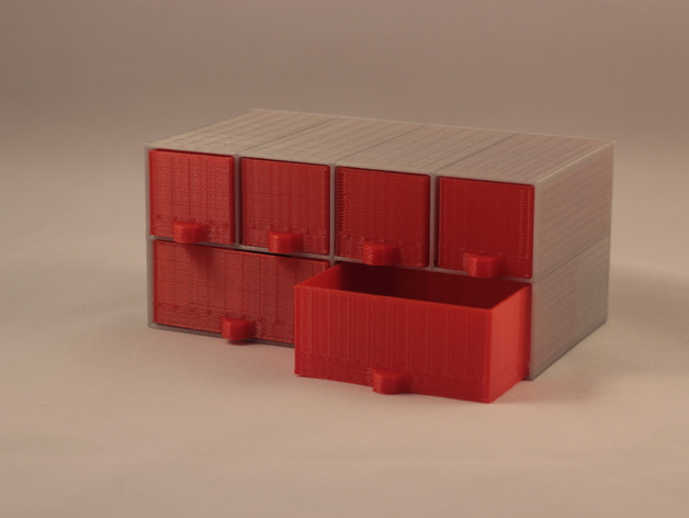customisable mini storage drawers by smartroad
