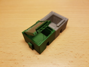 SMD SMT Connectable Container Box with plastic window