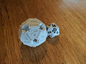 Snap-together d20