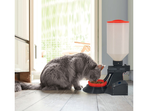 Automatic dispenser for cats