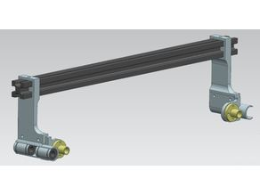 Linear bearing Gantry