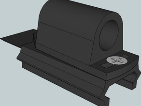 Laser Sight with X / Y correction for Picatinny rail