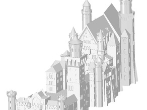 Neuschwanstein Castle Germany detaild