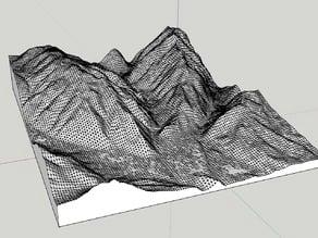 Aspen Colorado map stretched vertical