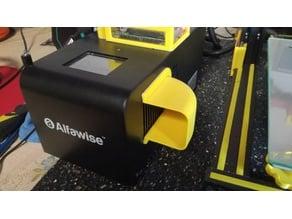 Déflecteur aérateur boitier de commande Alfawise U20